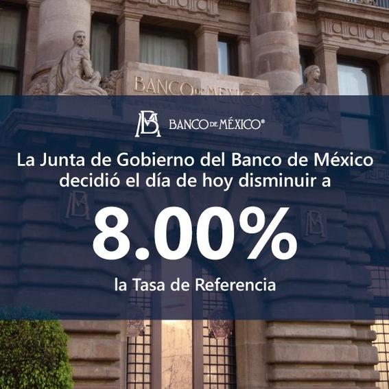 banxico tasa de referencia 1
