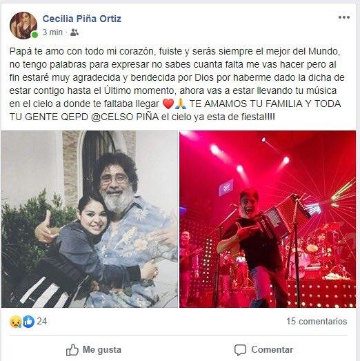 muere el cantante celso pina a los 66 anos tras sufrir un infarto 1
