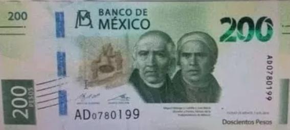 esta es la imagen que tendra el billete de 200 pesos 2