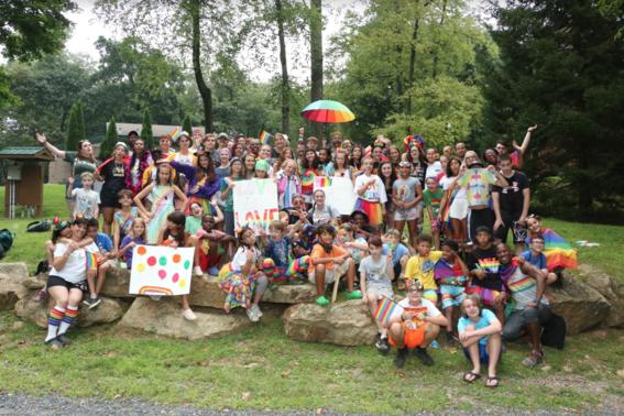 en este campamento familias homoparentales buscan la libre expresion y la convivencia en un sitio seguro y sin bullying 6