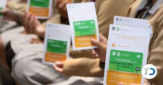 a partir del domingo 1 de septiembre se depositan en la misma tarjeta de utiles y uniformes escolares 'mi beca para empezar' a todos los ninos 1