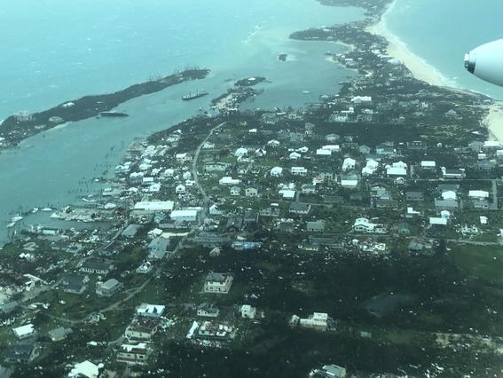 las imagenes difundidas por los medios de comunicacion dan cuenta de la gravedad de los danos que origino el paso del huracan dorian por bahamas 2