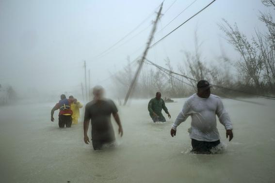 las imagenes difundidas por los medios de comunicacion dan cuenta de la gravedad de los danos que origino el paso del huracan dorian por bahamas 4