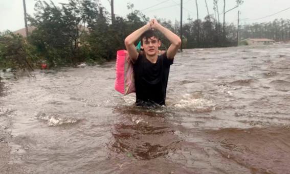 las imagenes difundidas por los medios de comunicacion dan cuenta de la gravedad de los danos que origino el paso del huracan dorian por bahamas 5