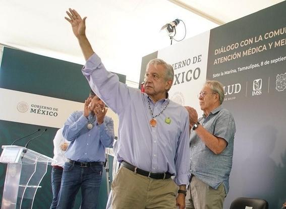 ¡ya al carajo la delincuencia ¡fuchi ¡guacala es como la corrupcion dijo el presidente durante su visita a tamaulipas 1