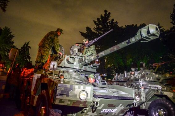 como cada ano esta todo listo en el centro de la cdmx para llevar a cabo el desfile militar por el aniversario 209 de la independencia de mexico 4