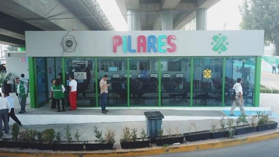 se abre el cuarto espacio dedicado a pilares 1