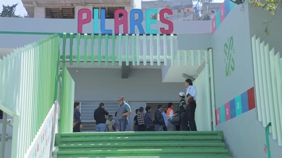 se abre el cuarto espacio dedicado a pilares 2