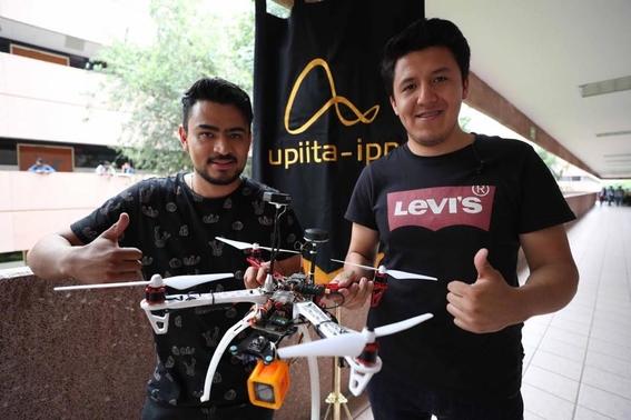 ipn dron victimas inundaciones sismos incendios 1