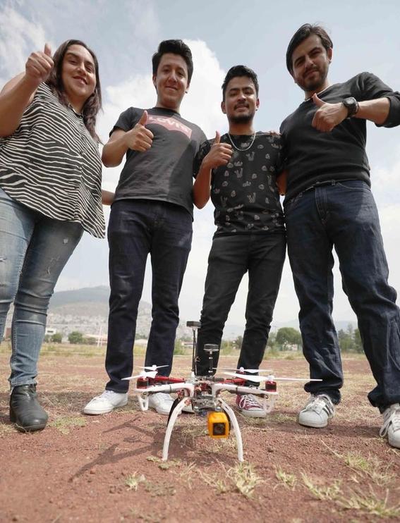 ipn dron victimas inundaciones sismos incendios 3