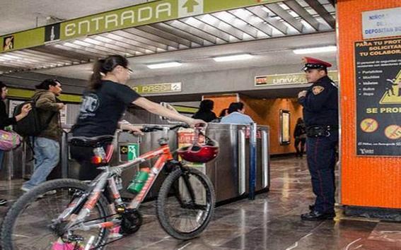 todos los dias podras entrar al metro con tu bici 2