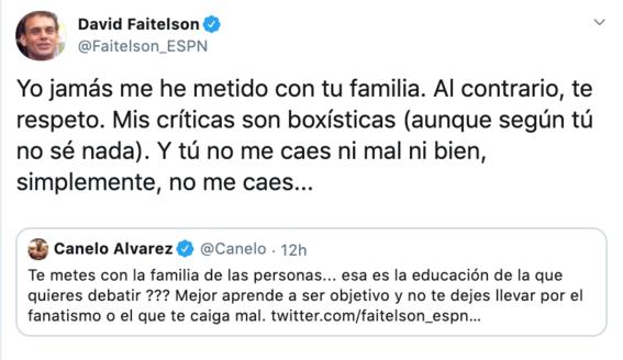 canelo alvarez y david faitelson pelean en redes sociales 4