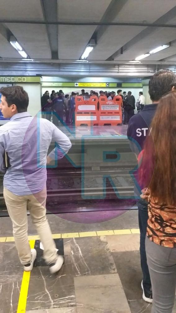 mujer muere al arrojarse a las vias del metro centro medico 1