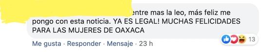 asi reaccionaron en redes tras legalizacion del aborto en oaxaca 4