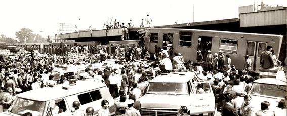El trágico accidente del metro de la CDMX más mortal de la historia