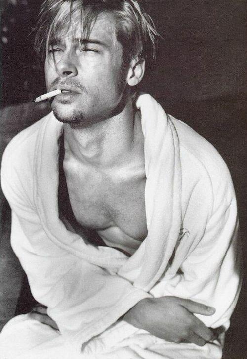 40 fotografías de Brad Pitt que demuestran su belleza 28