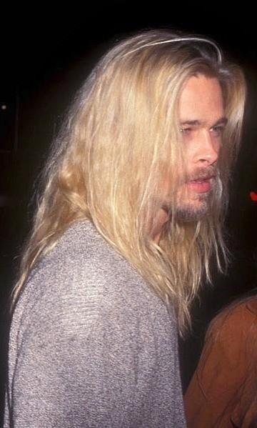40 fotografías de Brad Pitt que demuestran su belleza 29