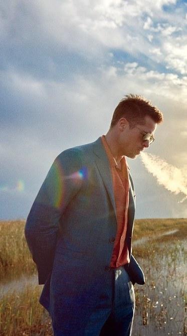 40 fotografías de Brad Pitt que demuestran su belleza 33