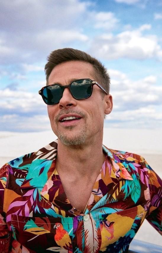 40 fotografías de Brad Pitt que demuestran su belleza 35