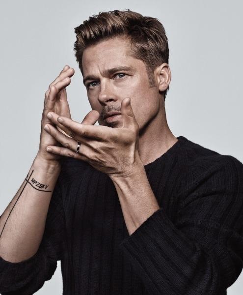 40 fotografías de Brad Pitt que demuestran su belleza 37