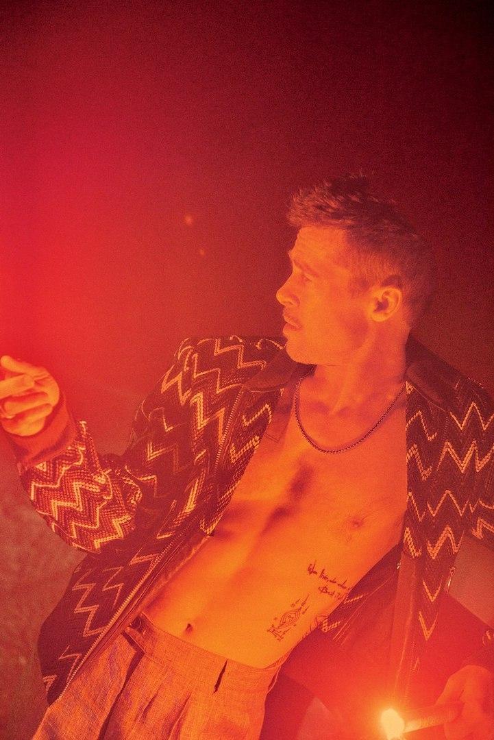 40 fotografías de Brad Pitt que demuestran su belleza 39