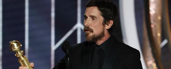 ¿Por qué Christian Bale le agradeció a Satán su Golden Globe?
