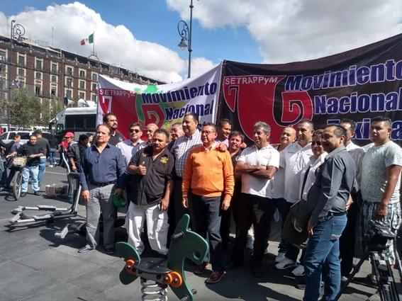 manifestacion taxistas 7 octubre 2019 1