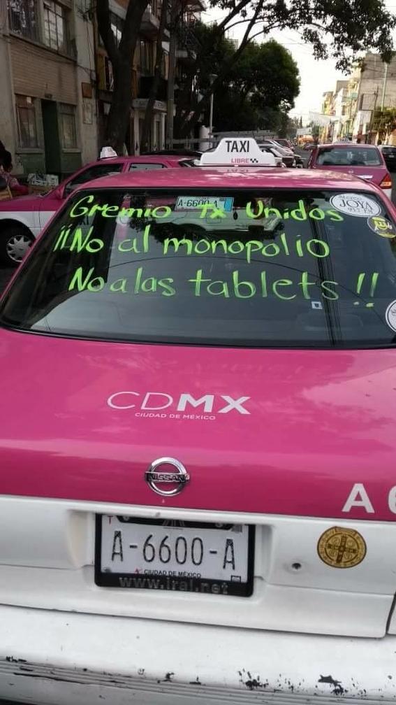 taxistas paro indefinido en reforma 1
