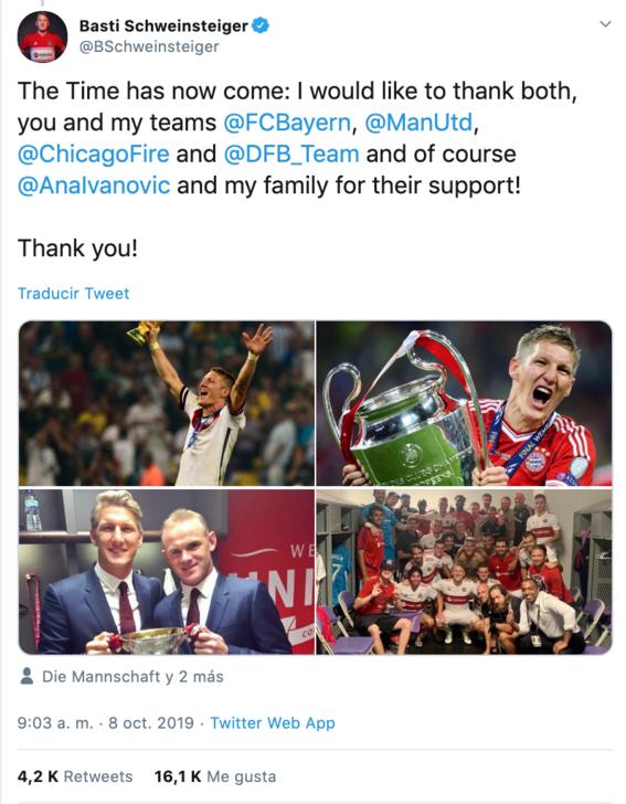 bastian schweinsteiger excapitan de alemania anuncia su retiro del futbol 1