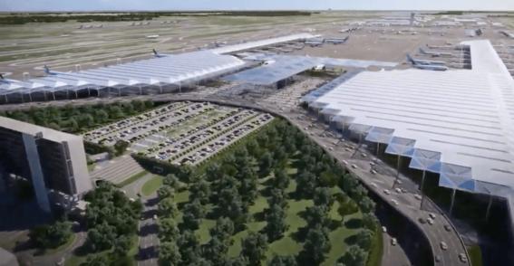 asi es como se vera el nuevo aeropuerto felipe angeles en lo que fue la base aerea de santa lucia 1