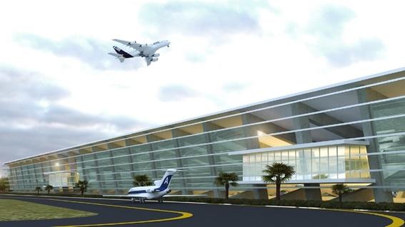 asi es como se vera el nuevo aeropuerto felipe angeles en lo que fue la base aerea de santa lucia 2