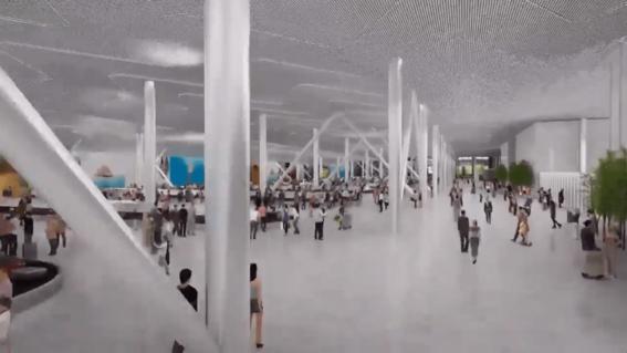 asi es como se vera el nuevo aeropuerto felipe angeles en lo que fue la base aerea de santa lucia 9