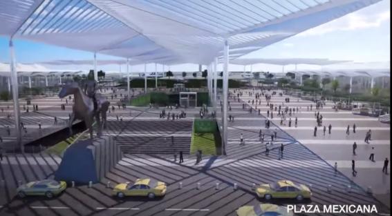 asi es como se vera el nuevo aeropuerto felipe angeles en lo que fue la base aerea de santa lucia 7