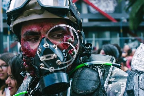fotografias marcha zombie 2019 2
