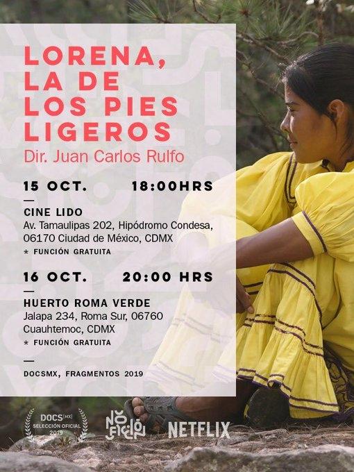 documental lorena la de pies ligeros netflix 2