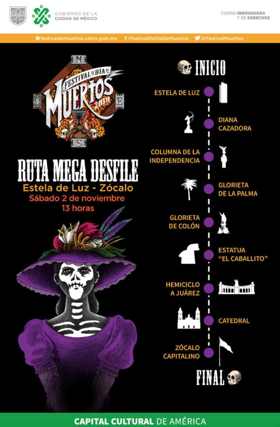 con el desfile internacional de muertos 2019 méxico conmemorara a la muerte y busca que esta tradicion sea reconocida en todo el mundo 1