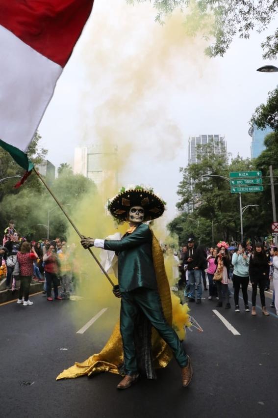 mega procesion de catrinas 2019  cdmx 2
