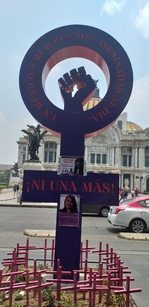 marcha dia de muertas feminicidio 1