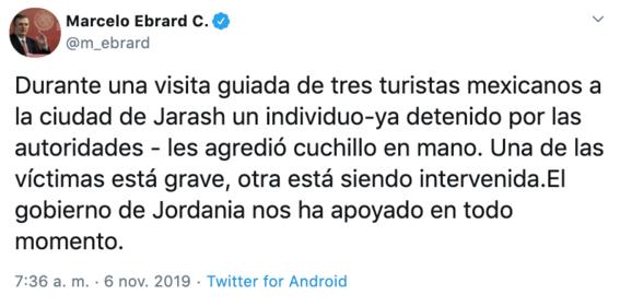 tres turistas mexicanos fueron apunalados en jordania 2