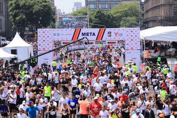 el maraton de la cdmx es el unico de america latina que cuenta con la distincion otorgada por world athletics 1