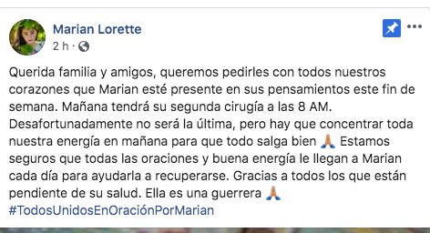 marian lorette operacion cirugia la voz kids 1