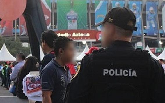 50 personas fueron asaltadas al salir del juego de la nfl en el azteca 1