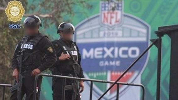 50 personas fueron asaltadas al salir del juego de la nfl en el azteca 2