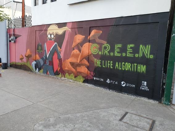 lanza videojuego hecho por mexicanos green the life algorithm 2