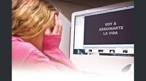 el ciberacoso es uno de los mayores problemas de la red ya que uno de cada cuatro casos de acoso escolar se hace a traves de la red 1