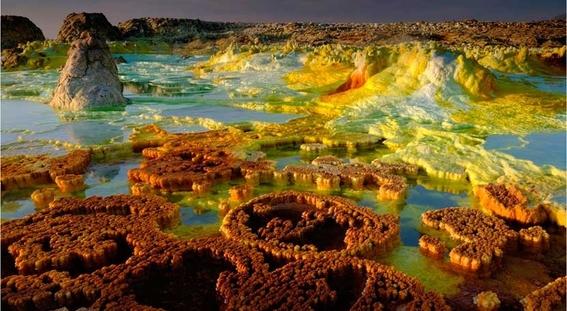 tras una serie de analisis en las aguas hiperacidas hipersalinas y calientes de dallol etiopia no se han encontrado microorganismos 1