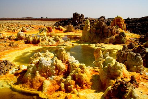 tras una serie de analisis en las aguas hiperacidas hipersalinas y calientes de dallol etiopia no se han encontrado microorganismos 3
