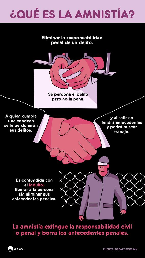 preparan ley de amnistia politica 2