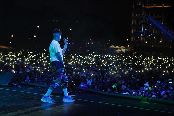 el festival internacional de musica del mundo que reunio a artistas nacionales e internacionales recibio a unas 180 mil personas en el zocalo de 4