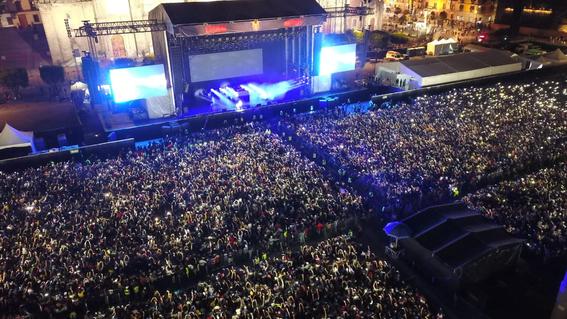 el festival internacional de musica del mundo que reunio a artistas nacionales e internacionales recibio a unas 180 mil personas en el zocalo de 9